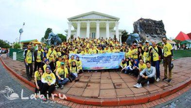 Gathering Perusahaan 3H2M Malang Batu Bromo